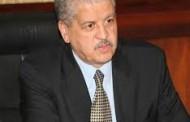 استقبل الوزير الأول عبد المالك سلال رئيس مجلس الشيوخ الفرنسي