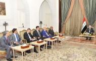 مساهل يسلم رسالة من الرئيس بوتفليقة الى نظيره العراقي فؤاد معصوم