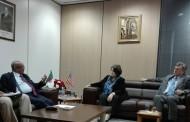 اتفاق السلام في مالي: السيد مساهل يستقبل مديرة مركز كارتر