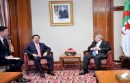 أويحيى يستقبل رئيس الانتربول مينغ هونغواي