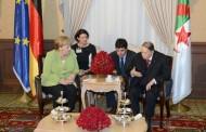 الرئيس بوتفليقة يستقبل المستشارة الألمانية