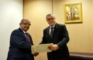 مساهل يستقبل الممثل الجديد للبنك الإفريقي للتنمية بالجزائر