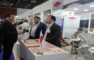 جلاب يزور جناح الجزائر في معرض الخليج للتغذية 2019 بدبي