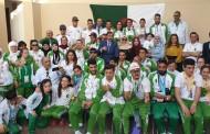 سفير الجزائر بابوظبي يكرم  الوفد المشارك في فعاليات الألعاب العالمية للألمبياد الخاص بأبوظبي