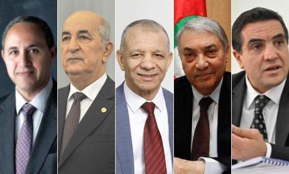رئاسيات 12 ديسمبر: خمسة مترشحين سيتنافسون خلال الحملة الانتخابية