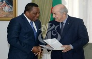 الرئيس تبون يستقبل وزير الخارجية الكونغولي