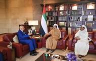 استقبال سمو الشيخ منصور بن زايد آل نهيان سعادة السفير عبد الكريم طواهرية