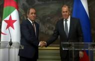 الجزائر/روسيا: لافروف يشيد بمستوى العلاقات الثنائية