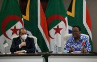 الجزائر و بريتوريا تتفقان على تعميق العلاقات الثنائية في المجالات الاقتصادية والتجارية