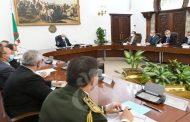 كوفيد-19: الرئيس تبون يترأس اجتماعا تقييميا للوضعية الوبائية في الجزائر