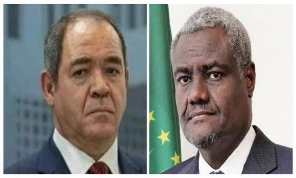 الاتحاد الافريقي: بوقدوم وفقي يتبادلان وجهات النظر بخصوص أشغال مجلس السلم والأمن