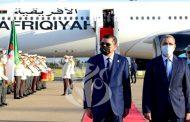رئيس حكومة الوحدة الوطنية الليبية يشرع في زيارة رسمية إلى الجزائر
