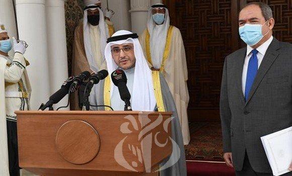 العلاقات الجزائرية- الكويتية