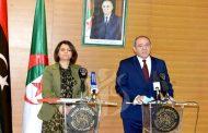 بوقدوم يجدد التأكيد على تضامن الجزائر