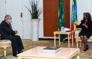 لعمامرة يستقبل من طرف الرئيسة الاثيوبية ساهلي وورك زودي