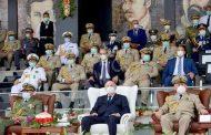 الرئيس تبون يشرف على تخرج ثلاث دفعات من الضباط بالأكاديمية العسكرية لشرشال