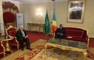 السيد لعمامرة يستقبل من طرف رئيس جمهورية الكونغو