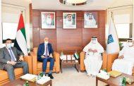 «غرفة أبوظبي» تبحث التعاون مع القطاع الخاص بالجزائر